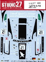 スタジオ27ツーリングカー/GTカー オリジナルデカールメルセデス SLS ブラックファルコン #21 モンツァ 2015