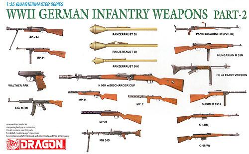 WW2 ドイツ歩兵 ウエポンセット PART-2プラモデル(ドラゴン1/35 Quartermaster SeriesNo.3816)商品画像