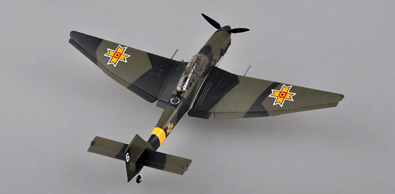 Ju87D-3 スツーカ ルーマニア空軍 1943年完成品(イージーモデル1/72 ウイングド エース (Winged Ace)No.36389)商品画像_2