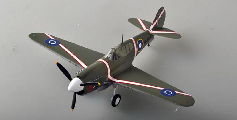 P-40M ウォーホーク ニュージーランド空軍 1943年完成品(イージーモデル1/48 ウイングド エース (Winged Ace)No.39315)商品画像_1