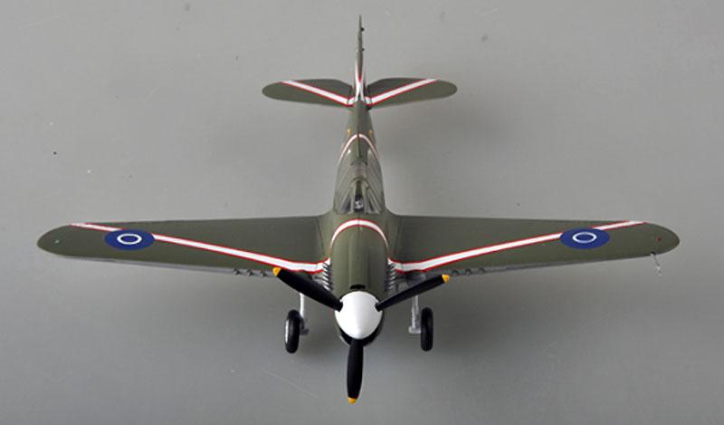 P-40M ウォーホーク ニュージーランド空軍 1943年完成品(イージーモデル1/48 ウイングド エース (Winged Ace)No.39315)商品画像_2
