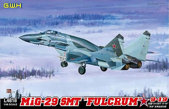 MiG-29 SMT ファルクラム 9-19プラモデル(グレートウォールホビー1/48 ミリタリーエアクラフト プラモデルNo.L4818)商品画像