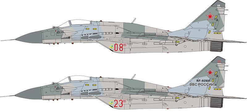 MiG-29 SMT ファルクラム 9-19プラモデル(グレートウォールホビー1/48 ミリタリーエアクラフト プラモデルNo.L4818)商品画像_1