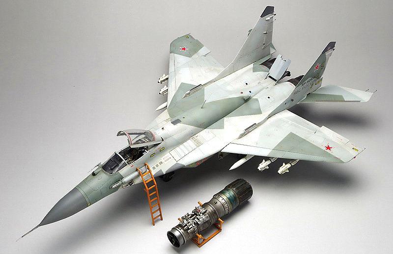 MiG-29 SMT ファルクラム 9-19プラモデル(グレートウォールホビー1/48 ミリタリーエアクラフト プラモデルNo.L4818)商品画像_2