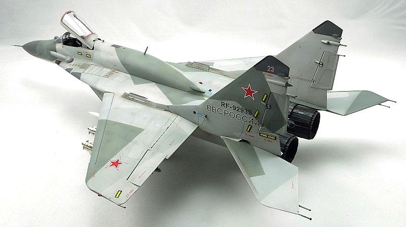 MiG-29 SMT ファルクラム 9-19プラモデル(グレートウォールホビー1/48 ミリタリーエアクラフト プラモデルNo.L4818)商品画像_3