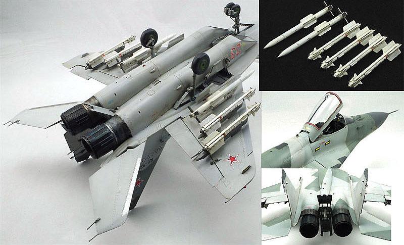 MiG-29 SMT ファルクラム 9-19プラモデル(グレートウォールホビー1/48 ミリタリーエアクラフト プラモデルNo.L4818)商品画像_4