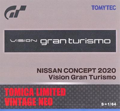 ニッサン CONCEPT 2020 Vision Gran Turismo (グレー)ミニカー(トミーテックトミカリミテッド ヴィンテージ ネオNo.261889)商品画像