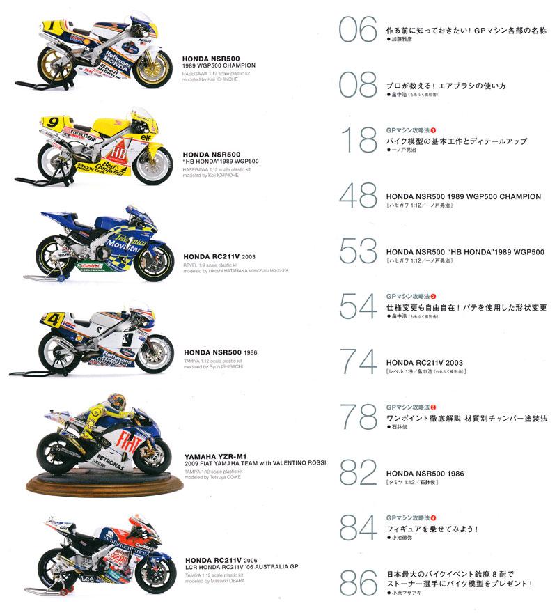 バイク模型製作の教科書 GPマシン攻略法本(ホビージャパンHOBBY JAPAN MOOKNo.68147-70)商品画像_1