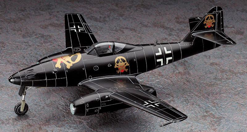ベルリンの黒騎士 フォッケウルフ Fw190D-9 & メッサーシュミット Me262A-1aプラモデル(ハセガワクリエイター ワークス シリーズNo.64727)商品画像_4