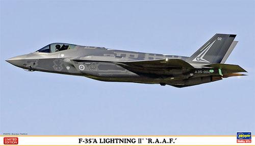 F-35A ライトニング2 オーストラリア空軍プラモデル(ハセガワ1/72 飛行機 限定生産No.02168)商品画像
