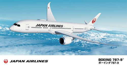 日本航空 ボーイング 787-9プラモデル(ハセガワ1/200 飛行機シリーズNo.022)商品画像