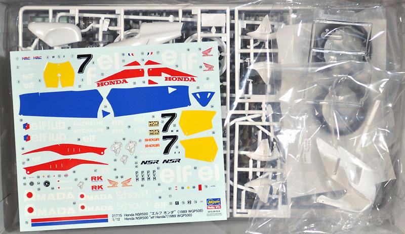 ホンダ NSR500 エルフ ホンダ (1989 WGP500)プラモデル(ハセガワ1/12 バイクシリーズNo.21715)商品画像_1