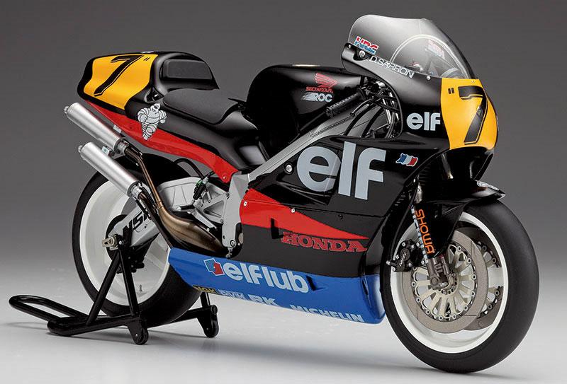ホンダ NSR500 エルフ ホンダ (1989 WGP500)プラモデル(ハセガワ1/12 バイクシリーズNo.21715)商品画像_2