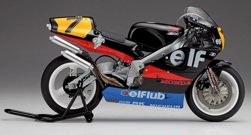ホンダ NSR500 エルフ ホンダ (1989 WGP500)プラモデル(ハセガワ1/12 バイクシリーズNo.21715)商品画像_3