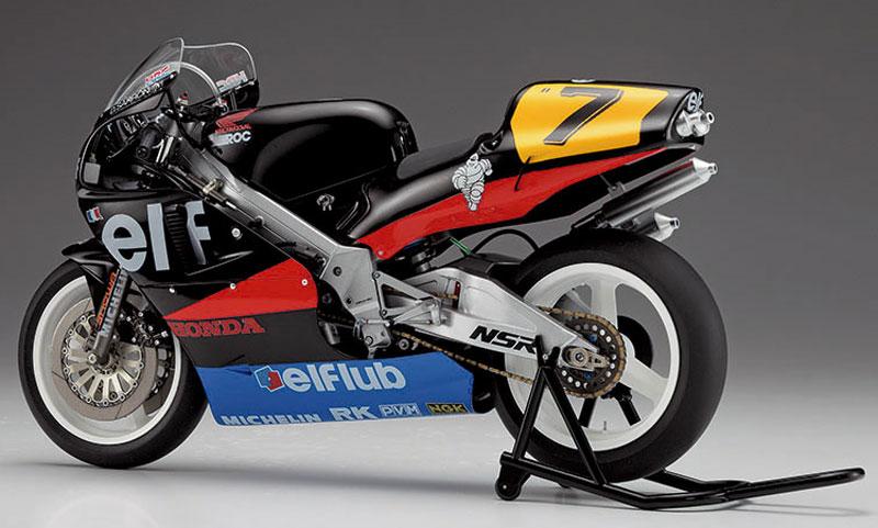 ホンダ NSR500 エルフ ホンダ (1989 WGP500)プラモデル(ハセガワ1/12 バイクシリーズNo.21715)商品画像_4