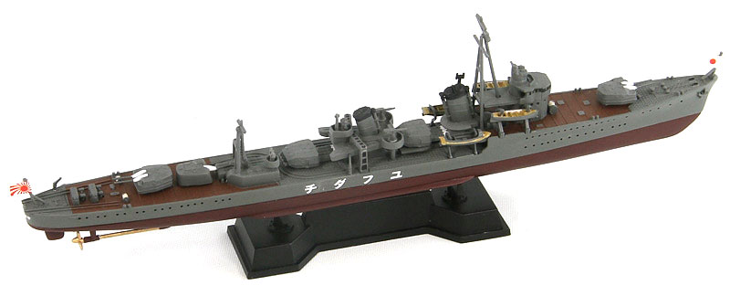 日本海軍 白露型駆逐艦 夕立 (新装備付)プラモデル(ピットロード1/700 スカイウェーブ W シリーズNo.SPW040)商品画像_2