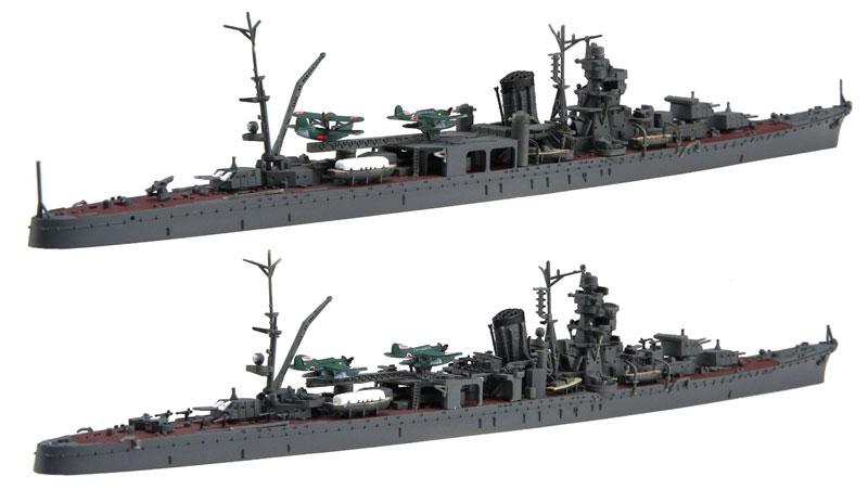 日本海軍 軽巡洋艦 阿賀野/能代プラモデル(フジミ1/700 特シリーズNo.091)商品画像_3