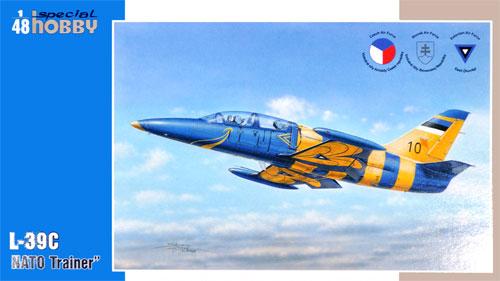 アエロ L-39C アルバトロス NATO練習機プラモデル(スペシャルホビー1/48 エアクラフト プラモデルNo.SH48171)商品画像