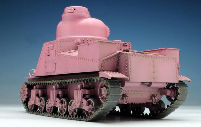 M3中戦車 リー ウサギさんチーム (ガールズ&パンツァー)プラモデル(プラッツガールズ&パンツァーNo.GP-016)商品画像_3