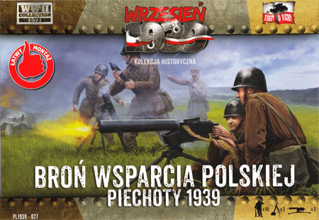 ポーランド 迫撃砲 & 機関銃 (ビエホティ 1939)プラモデル(FTF1/72 AFVNo.PL1939-027)商品画像
