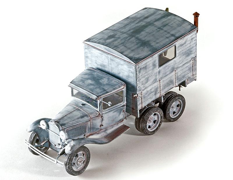 GAZ-AAA シェルター付プラモデル(ミニアート1/35 WW2 ミリタリーミニチュアNo.35183)商品画像_2