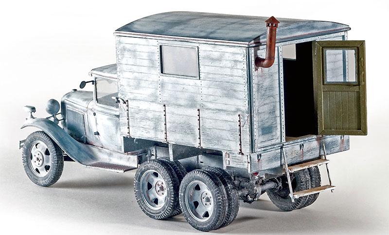 GAZ-AAA シェルター付プラモデル(ミニアート1/35 WW2 ミリタリーミニチュアNo.35183)商品画像_4