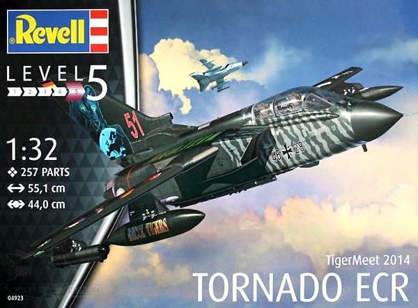 トーネード タイガーミート2014プラモデル(レベル1/32 AircraftNo.04923)商品画像