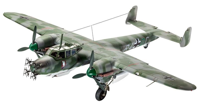 ドルニエ Do215B-5 夜間戦闘機プラモデル(レベル1/48 飛行機モデルNo.04925)商品画像_1