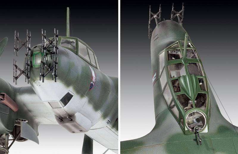 ドルニエ Do215B-5 夜間戦闘機プラモデル(レベル1/48 飛行機モデルNo.04925)商品画像_2