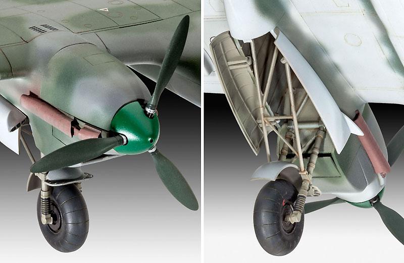 ドルニエ Do215B-5 夜間戦闘機プラモデル(レベル1/48 飛行機モデルNo.04925)商品画像_3