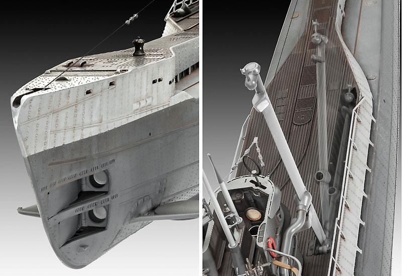 ドイツ Uボート Type9C/40 (U190)プラモデル(レベル1/72 艦船モデルNo.05133)商品画像_1