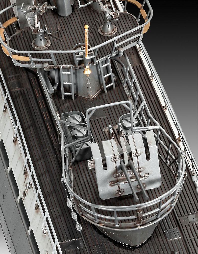 ドイツ Uボート Type9C/40 (U190)プラモデル(レベル1/72 艦船モデルNo.05133)商品画像_2