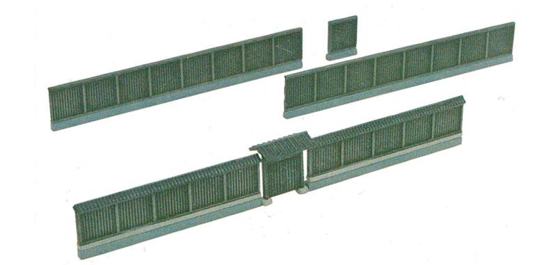 塀と門 2プラモデル(トミーテック情景コレクション 情景小物シリーズNo.088-2)商品画像_1