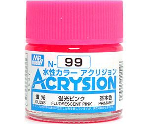 蛍光ピンク (N-99)塗料(GSIクレオス水性カラー アクリジョンNo.N-099)商品画像