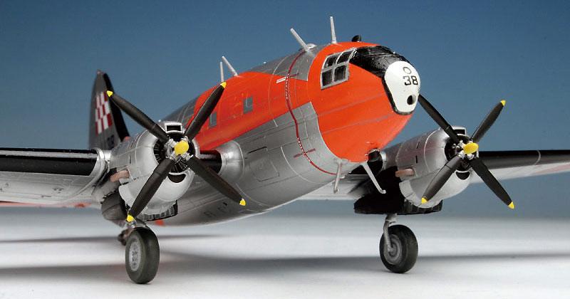 航空自衛隊 C-46 AACS 飛行点検機プラモデル(プラッツ1/144 プラスチックモデルキットNo.PD-023)商品画像_2