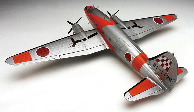 航空自衛隊 C-46 AACS 飛行点検機プラモデル(プラッツ1/144 プラスチックモデルキットNo.PD-023)商品画像_3