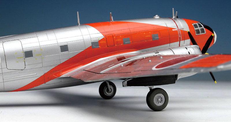 航空自衛隊 C-46 AACS 飛行点検機プラモデル(プラッツ1/144 プラスチックモデルキットNo.PD-023)商品画像_4