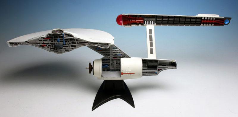 U.S.S. エンタープライズ NCC-1701 カットアウェイモデルプラモデル(amtスタートレック(STAR TREK)シリーズNo.AMT891/06)商品画像_2