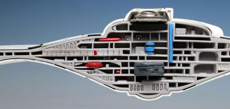 U.S.S. エンタープライズ NCC-1701 カットアウェイモデルプラモデル(amtスタートレック(STAR TREK)シリーズNo.AMT891/06)商品画像_3
