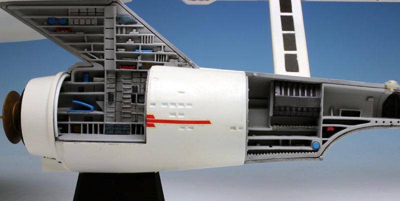 U.S.S. エンタープライズ NCC-1701 カットアウェイモデルプラモデル(amtスタートレック(STAR TREK)シリーズNo.AMT891/06)商品画像_4