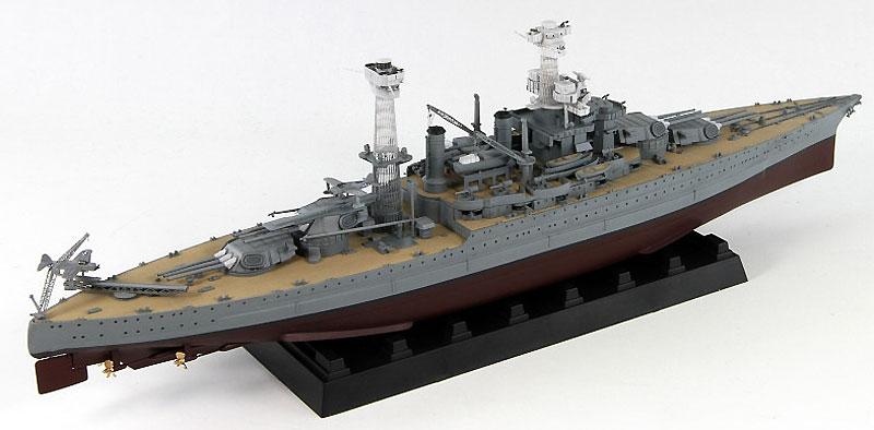 米国海軍 戦艦 BB-43 テネシー 1941プラモデル(ピットロード1/700 スカイウェーブ W シリーズNo.W180)商品画像_2
