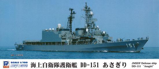 海上自衛隊 護衛艦 DD-151 あさぎりプラモデル(ピットロード1/700 スカイウェーブ J シリーズNo.J-071)商品画像