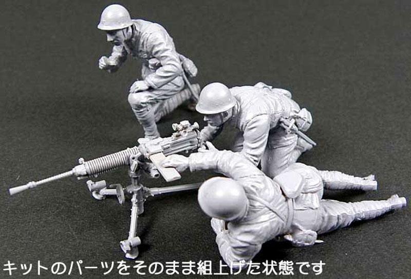日本陸軍 九二式重機関銃 (射手3体付き) (ピットロード 1/35 グランドアーマーシリーズ G39) の商品画像