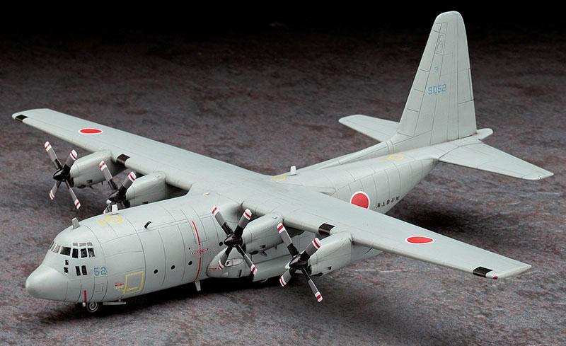 C-130R ハーキュリーズ 海上自衛隊プラモデル(ハセガワ1/200 飛行機 限定生産No.10813)商品画像_2