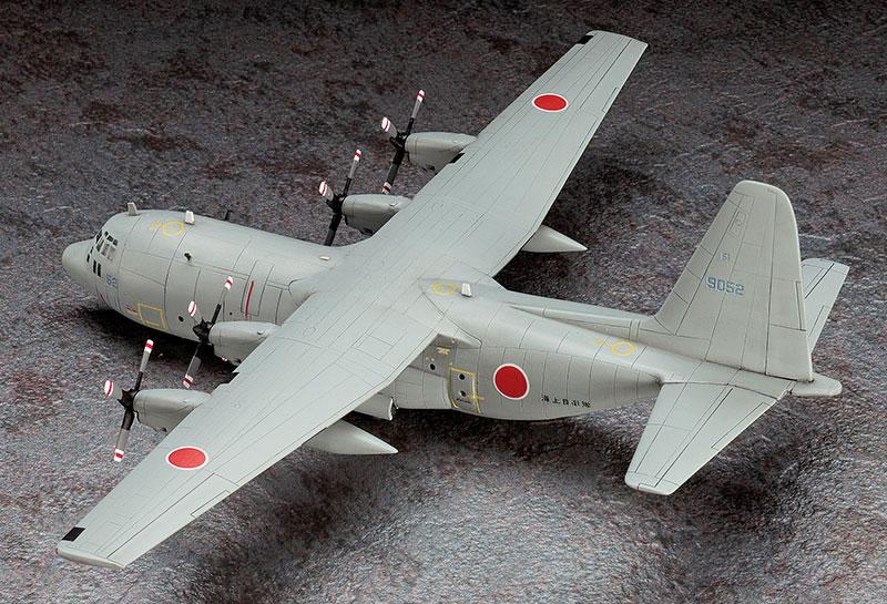 C-130R ハーキュリーズ 海上自衛隊プラモデル(ハセガワ1/200 飛行機 限定生産No.10813)商品画像_3