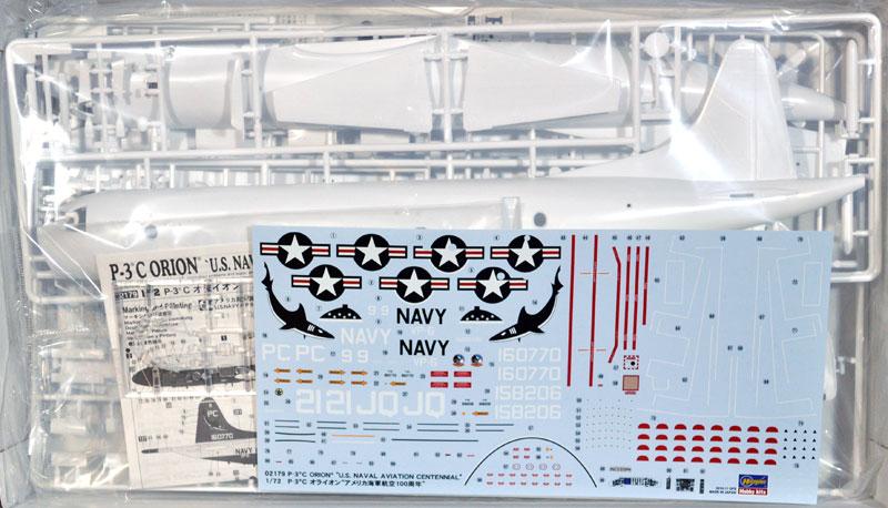 P-3C オライオン アメリカ海軍 航空100周年プラモデル(ハセガワ1/72 飛行機 限定生産No.02179)商品画像_1