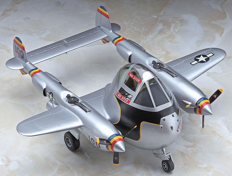 P-38 ライトニングプラモデル(ハセガワたまごひこーき シリーズNo.TH026)商品画像_2