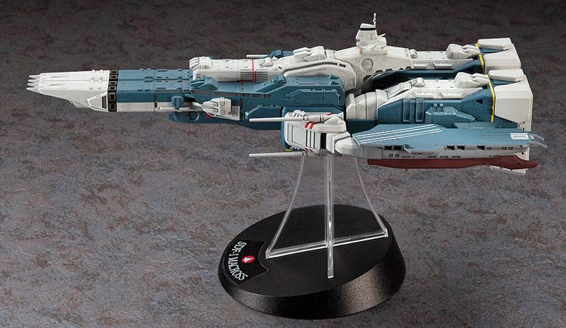 SDF-1 マクロス 要塞艦 w/プロメテウス & ダイダロスプラモデル(ハセガワマクロスシリーズNo.65830)商品画像_2