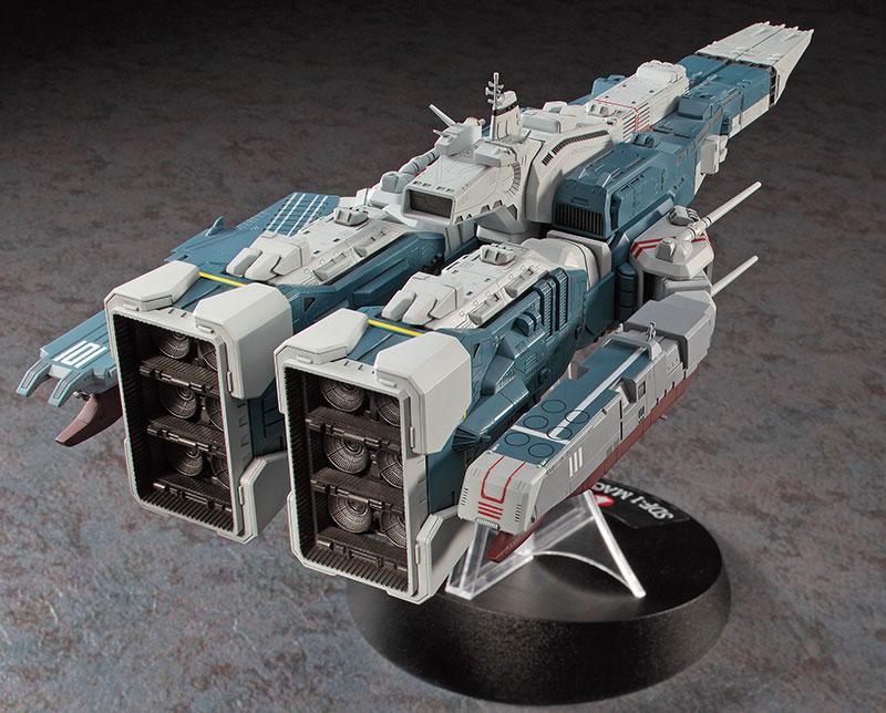 SDF-1 マクロス 要塞艦 w/プロメテウス & ダイダロスプラモデル(ハセガワマクロスシリーズNo.65830)商品画像_3