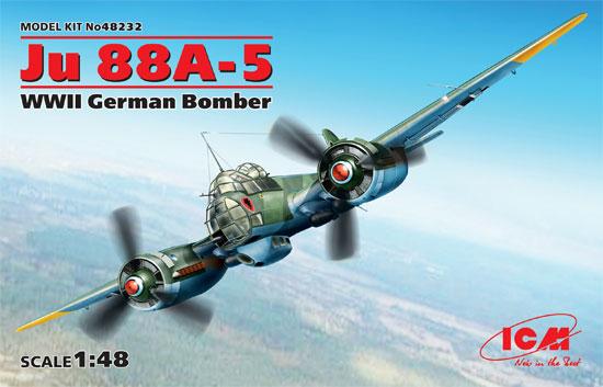 ユンカース Ju88A-5 爆撃機プラモデル(ICM1/48 エアクラフト プラモデルNo.48232)商品画像